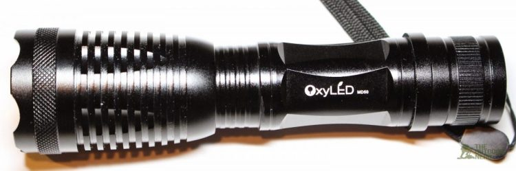 OxyLED MD50 Flashlight Review • GearDiary