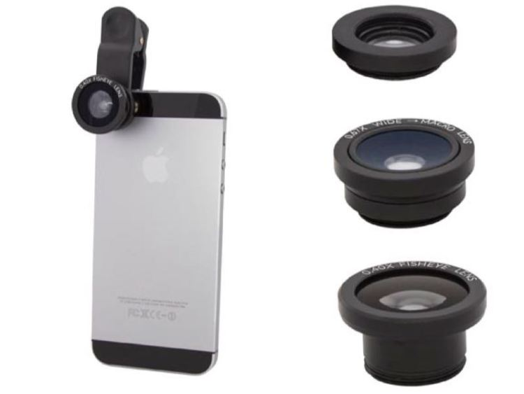 USBFever Clip-On Lenses Enhance Your Mobile Photography Quickly and Easily