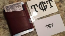 Lighten Your Pocket Load with the TGT Wallet
