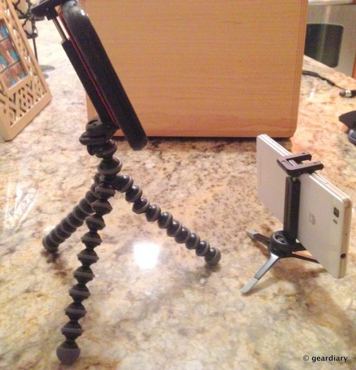 GearDiary The GripTight GorillaPod & MicroStand XL by JOBY Are PERFECT for Your New iPhone 6S