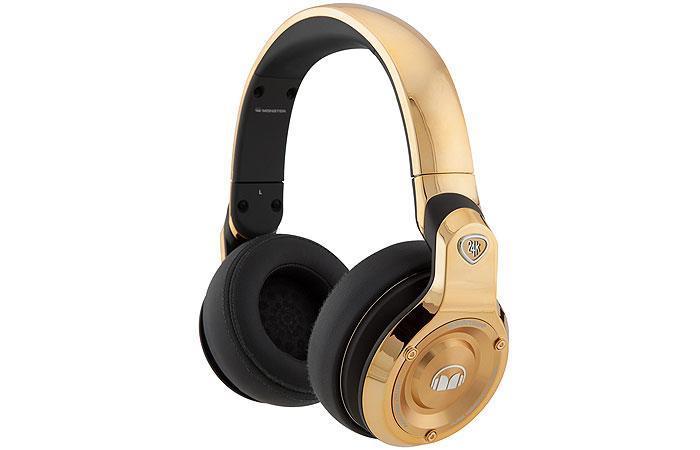 Monster Limited Edition 24K Rose Gold Over-Ear DJ Headphones 7
