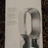 The Dyson AM10 Humidifier: Puts Humidity Where It Belongs -- in the Air and Not on Your Floor!