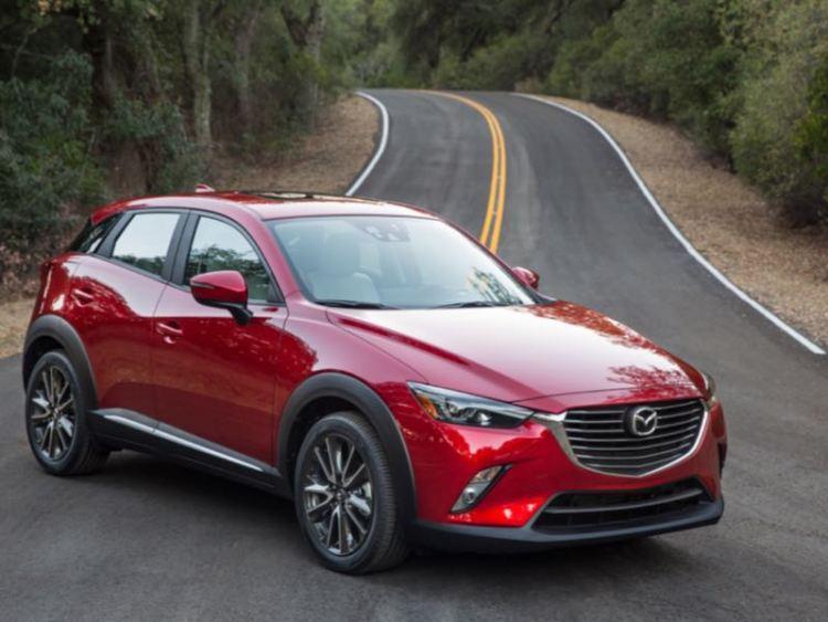 2016 Mazda CX-3/Images courtesy Mazda