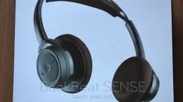 Plantronics Backbeat Sense Wireless Headphones Are Light on Your Head, Huge in Your Ears
