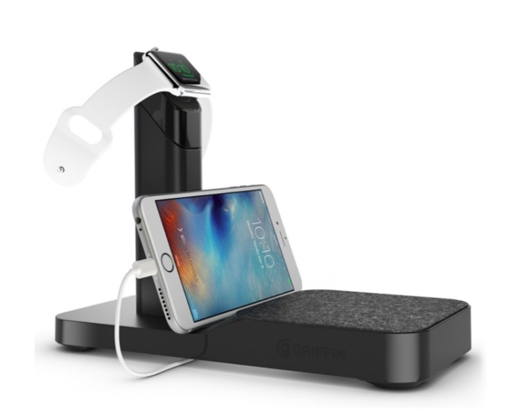 Get Charged Up at Night With the Griffin WatchStand Powered Charging Station!