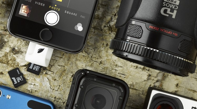 GearDiary Running Out of Space On Your iPhone? Get the iAccess by Leef!