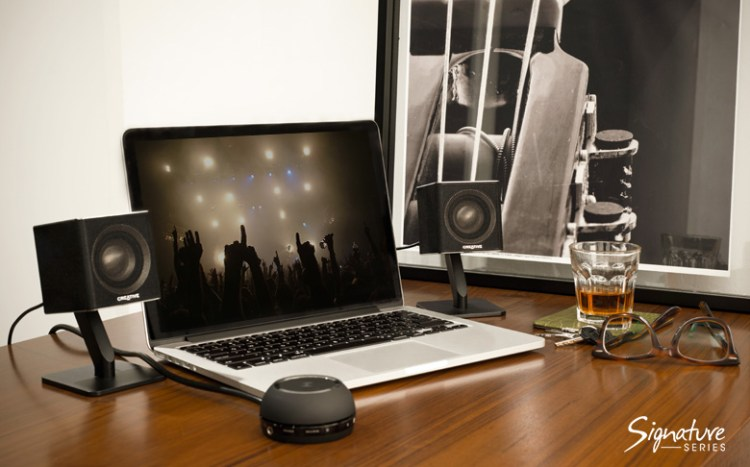 GearDiary The T4 Wireless Speaker System by Creative Is the Home Audio System You Need