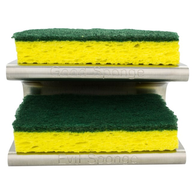 The Spongester: Keeps Your Good Sponge Separate from Your Evil Sponge