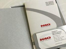 GearDiary The K40 RL360i Custom Installed Radar Detector: When You Want the Very Best
