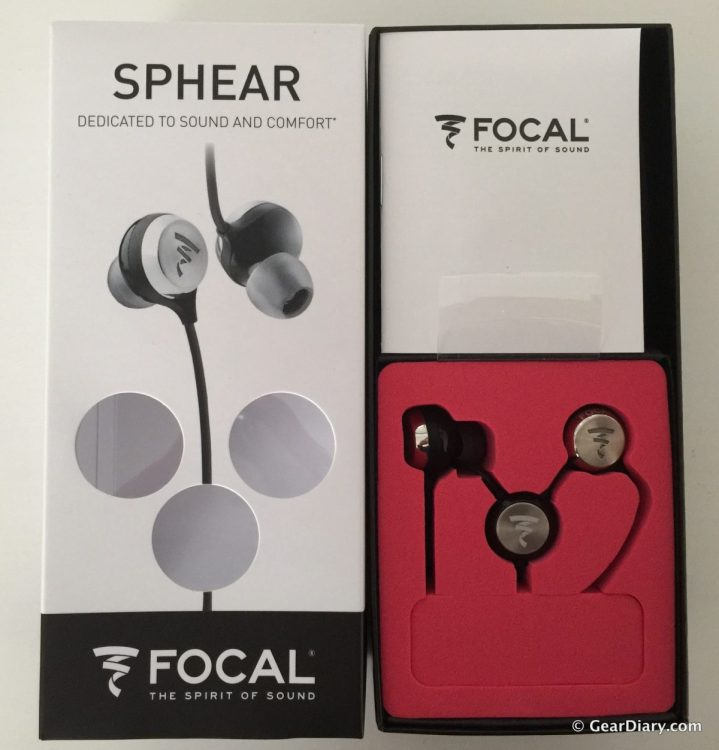 GearDiary Focal Sphear In-Ear Headphones Deliver Exceptional Sound and Comfort