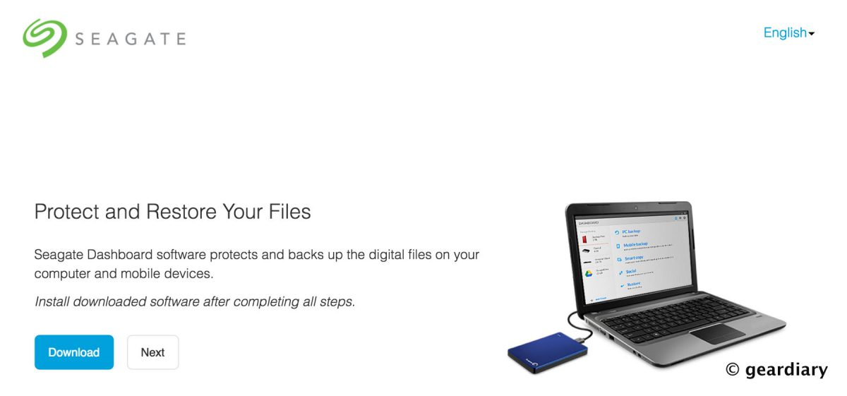 seagate backup plus software  mac