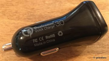 GearDiary Choetech Car Chargers: Qualcomm Quick Charge and USB Type-C Enabled!