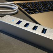 Choetech Aluminum 4 Port USB 3.0 to Type-C Hub: Just What Your MacBook Needs