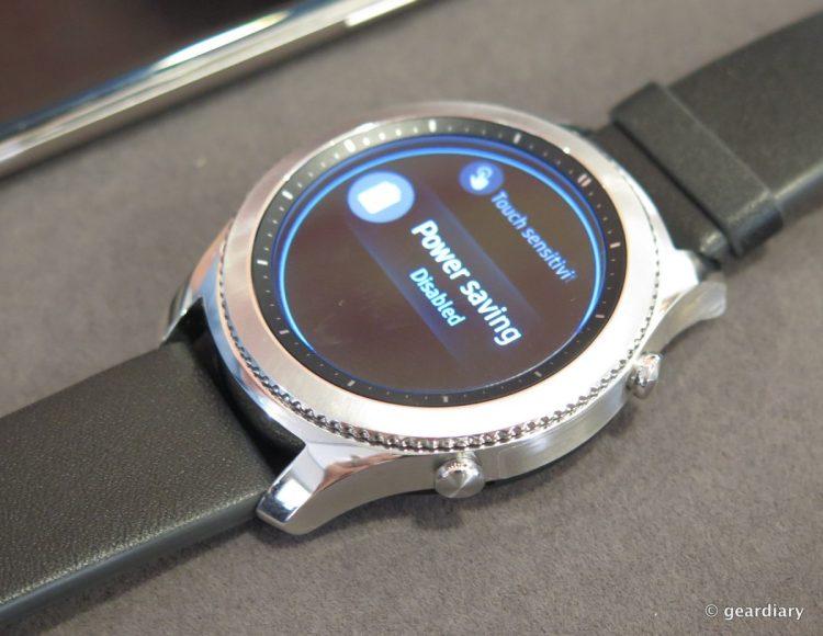 Samsung Gear S3 SmartWatch.12
