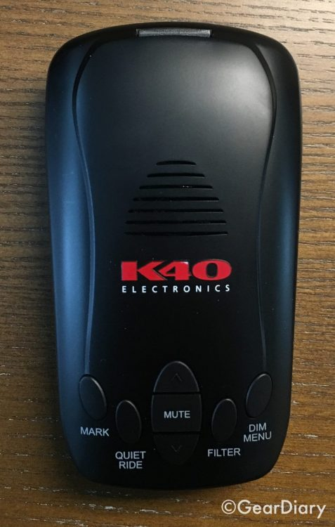 GearDiary The K40 RLS2 Radar/Laser Detector Will Keep the Tickets at Bay