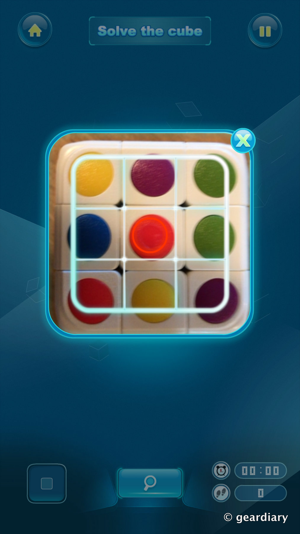 GearDiary Cube-tastic!: Challenge Your Mind and Enhance Your Memory with This 3-D Puzzle Cube