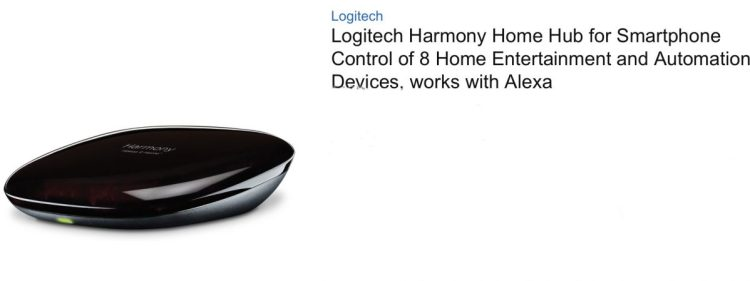 You're in Control Now That Amazon's Alexa Works with the Logitech Harmony Hub