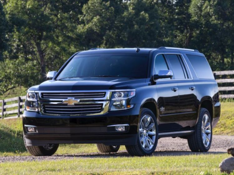 2016 Chevrolet Suburban/Images courtesy Chevrolet
