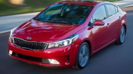 2017 Kia Forte Sedan More Attractive with Mid-Cycle Updates