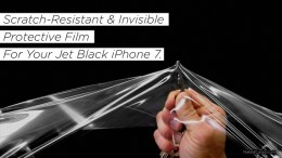 Naked Case on Kickstarter: Perfect Scratch Protection for the Jet Black iPhone 7