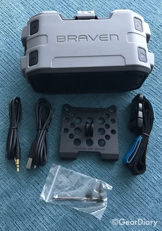 GearDiary The BRAVEN BRV-1M Is a Mid-Size Bluetooth Speaker Ready to Rock Your next Adventure