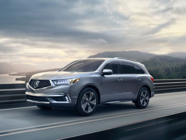 2017 Acura MDX/Images courtesy Acura