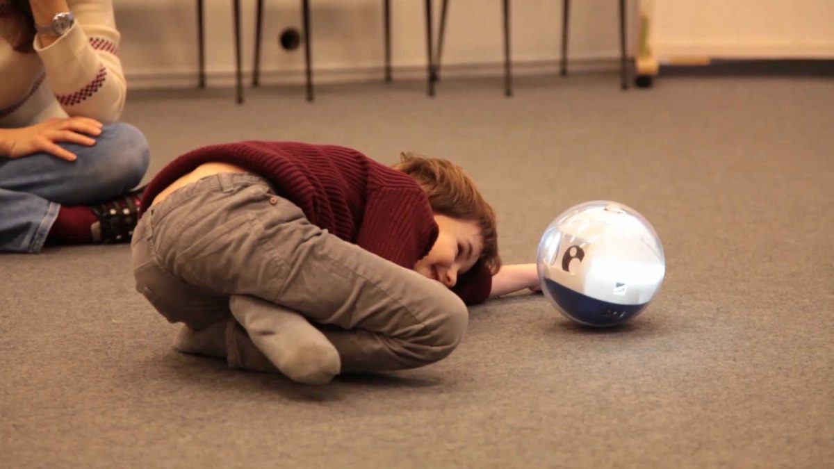 GearDiary Leka Robot Engages Developmentally Challenged Children