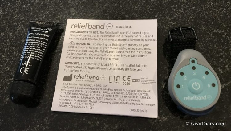 Nausea Relief Is on the Way with the Reliefband
