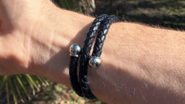 Active Edge Leather Wrap Bracelet Lets You Look and Feel Great