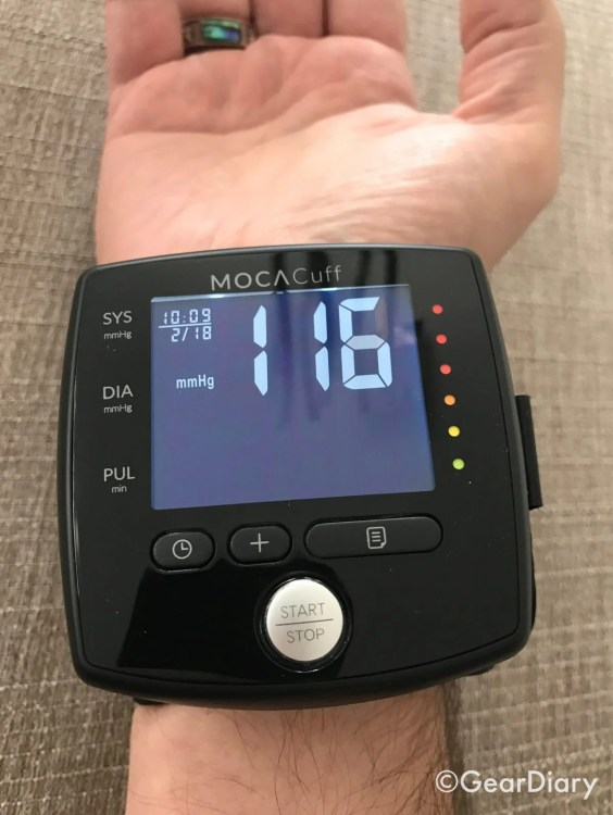 MOCAcuff Wrist Monitor Makes Blood Pressure Checks Simple  MOCAcuff Wrist Monitor Makes Blood Pressure Checks Simple  MOCAcuff Wrist Monitor Makes Blood Pressure Checks Simple  MOCAcuff Wrist Monitor Makes Blood Pressure Checks Simple