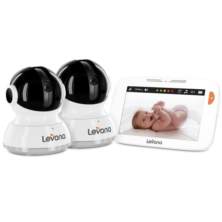 "GearDiary Levana's Willow 5"" Touchscreen Baby Monitor is the Cream of the Crop"