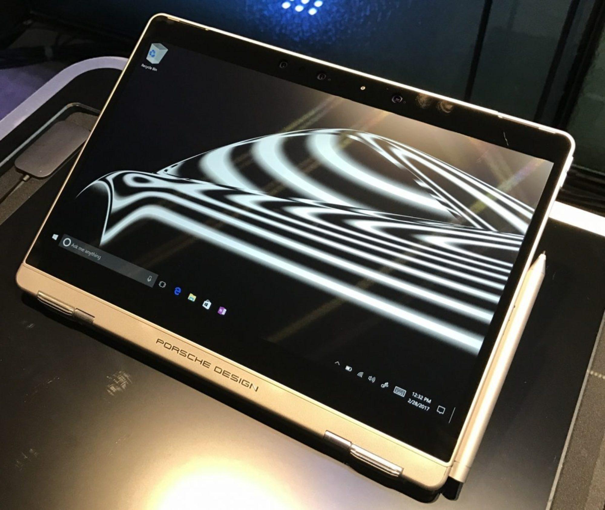 Porsche Design Elevates the Surface Book Design to a New Level