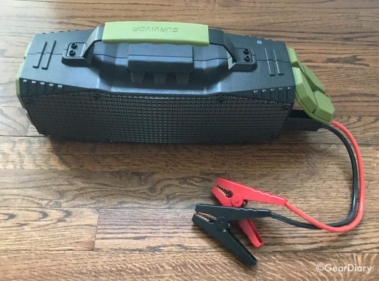 Dreamwave Survivor Speaker and Emergency Car Battery Starter Is a Powerhouse