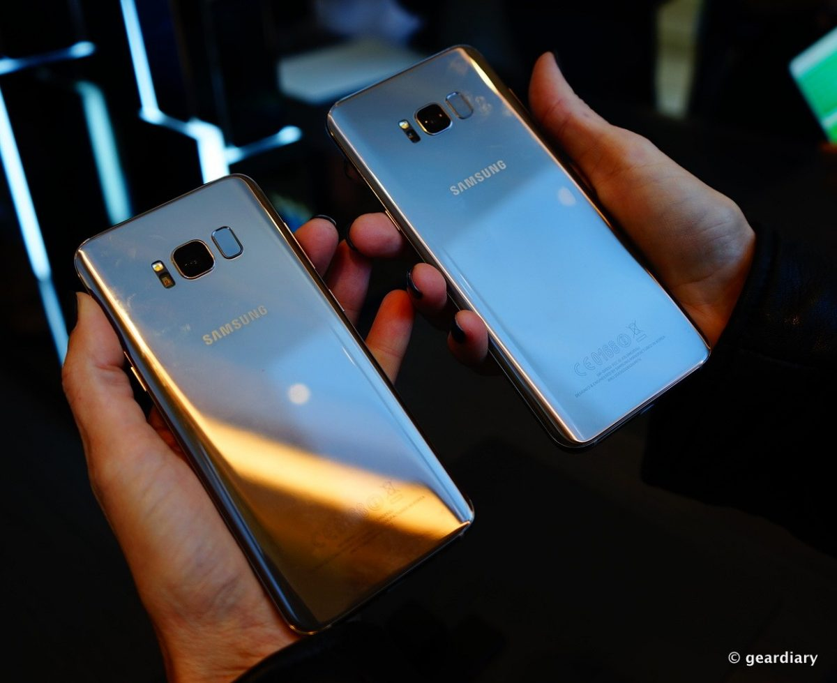 GearDiary Samsung Galaxy S8 and S8+: Beautiful Phones with So Many Features