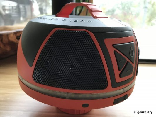 WOW-SOUND: A Waterproof Speaker that Floats, Has Insane Battery Life, and Fits in a Cupholder!