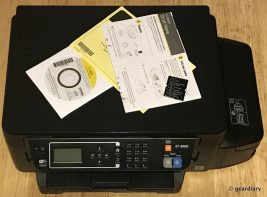 GearDiary Epson Expression ET-3600 EcoTank All-in-One Supertank Printer Review