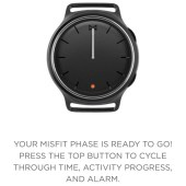 Misfit Phase Hybrid Smartwatch Review: A Connected Fitness Tracker That Looks Like a Fashion Watch