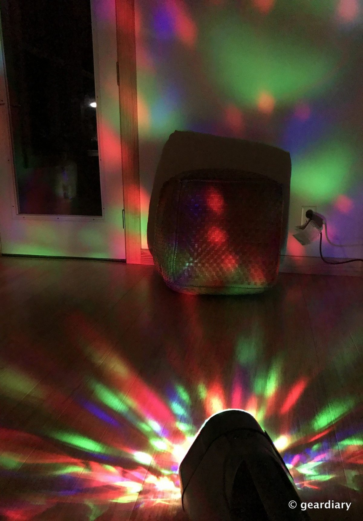 GearDiary Monster Superstar Ravebox Portable Speaker: Outdoor Sound with a Musical Light Show