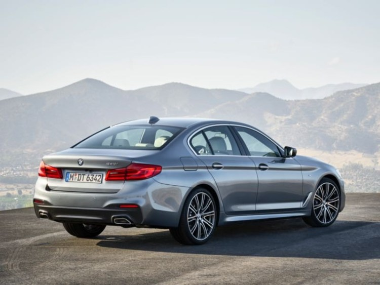 2017 BMW 530i Luxury Sport Sedan Packs in the Wow Factor