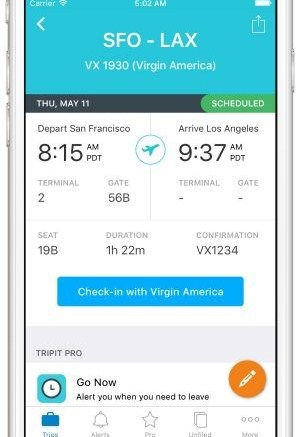New TripIt Features Make the Commute to the Airport Much Easier