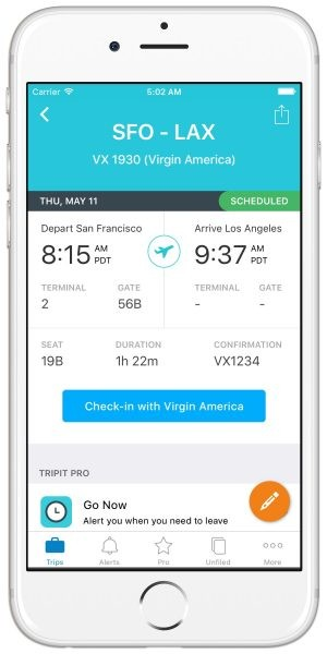New TripIt Features Make the Commute to the Airport Much Easier  New TripIt Features Make the Commute to the Airport Much Easier