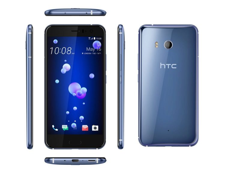 HTC U11 Now Shipping: Their New Flagship Phone Has a Plethora of Features
