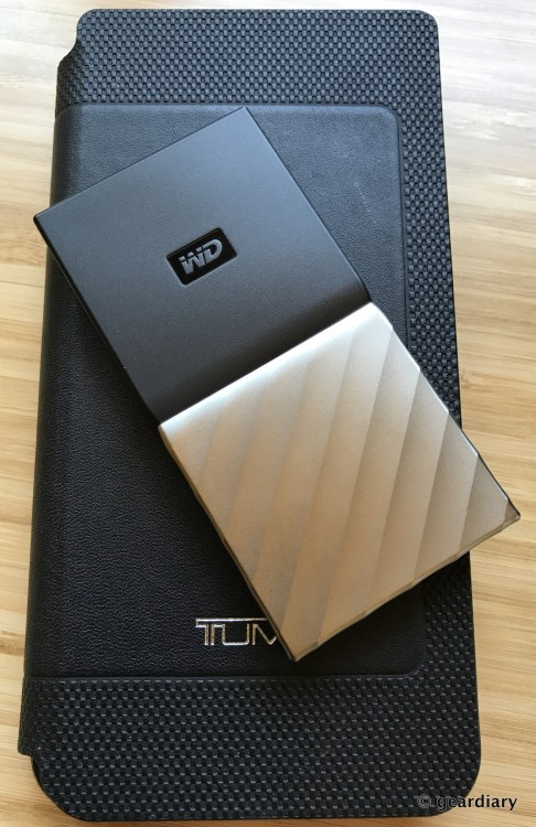 GearDiary The Western Digital My Passport SSD: Tiny Yet Fast and Substantial Storage