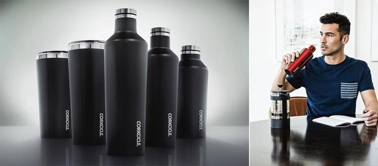 Corkcicle's Insulated Waterman Series Containers Are Great for Indoor or Outdoor Purposes