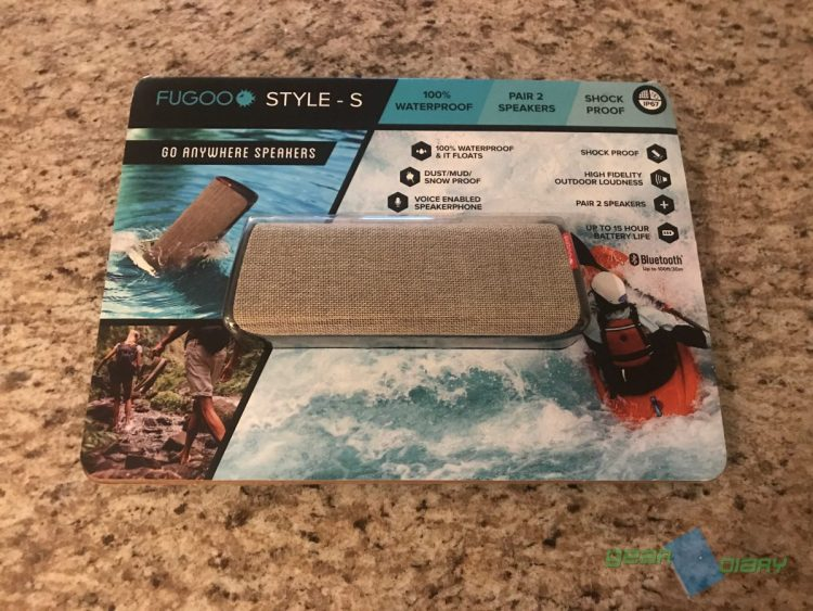 FUGOO Style-S Bluetooth Speaker Is My Go-To Speaker for the Pool