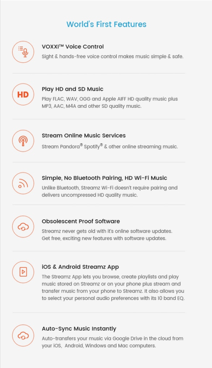 STREAMZ Headphones: All-in-One Voice Controlled Streaming Headphones