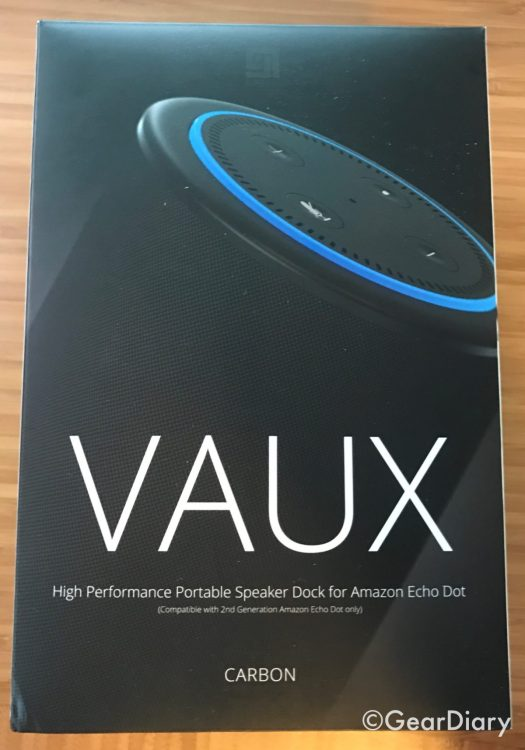GearDiary Add an Exclamation Mark to Your Dot with the VAUX Speaker for Echo Dot