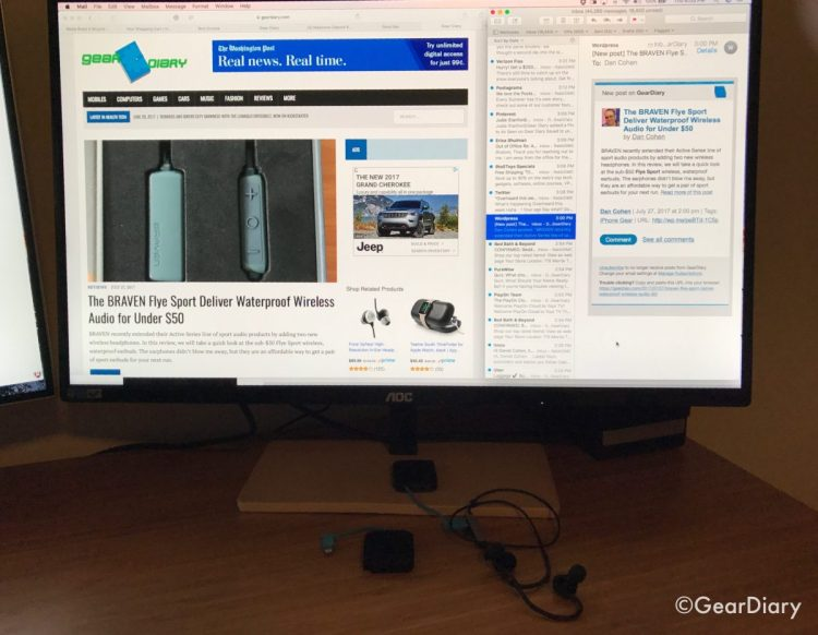 """I'm a Fan of the AOC P2779VC 27"""" Monitor with Wireless Charging"""