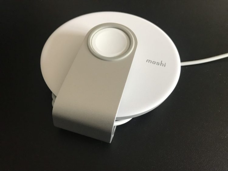 The Moshi Apple Watch Travel Stand Is Great on the Go