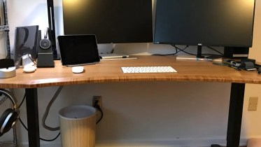 "UPLIFT Stand Up Desk with 1"" Thick Bamboo Top Review"